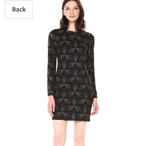 NWT Vince Camuto Long Sleeve Dress, Size 4